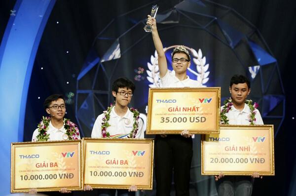 Trần Thế Trung - Nhà vô địch Đường lên đỉnh Olympia 2019