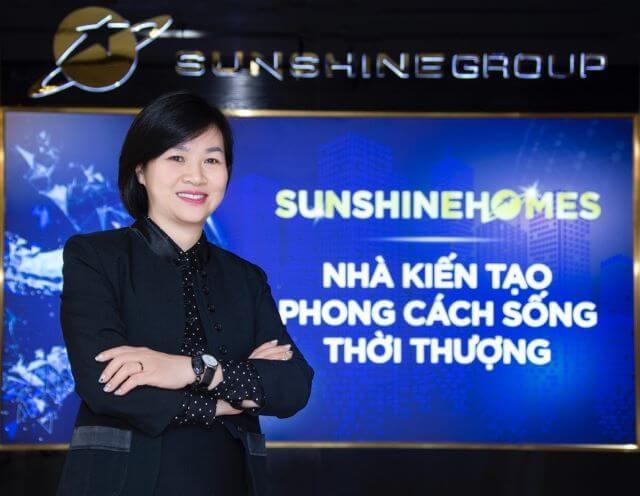 Bà Dương Thị Mai Hoa – Tân Phó Chủ tịch HĐQT Sunshine Group, Tổng Giám đốc Sunshine Homes
