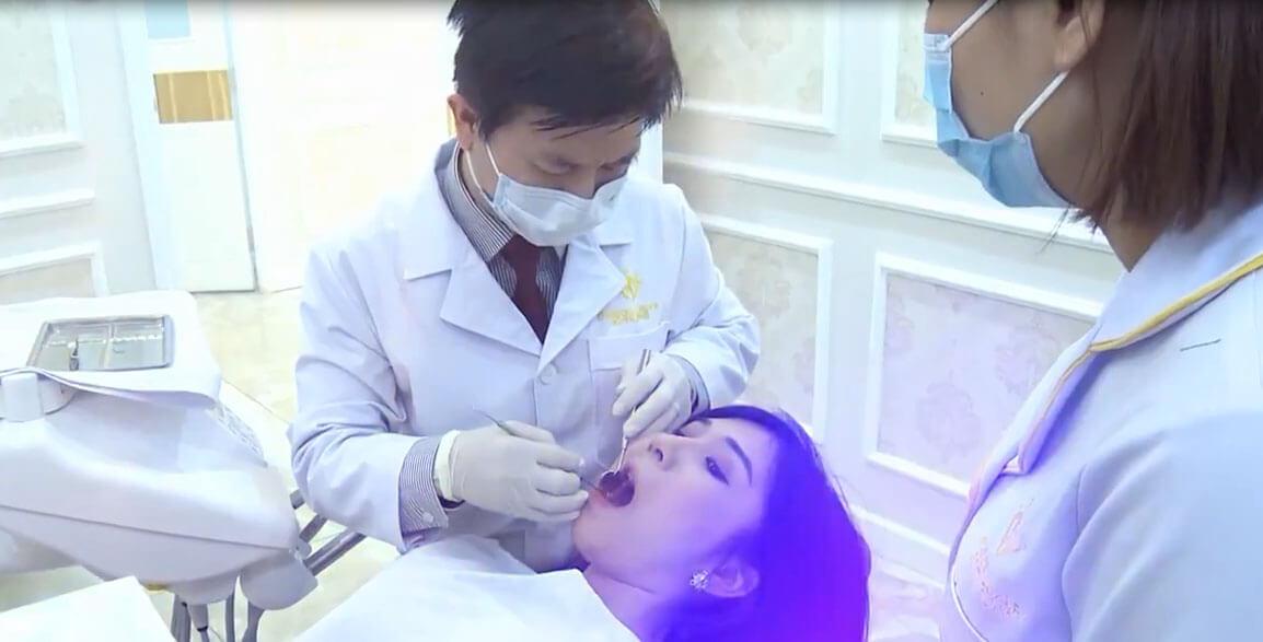 Bức hình rò rỉ đã tiết lộ sự thật là Thanh Bi đi làm răng
