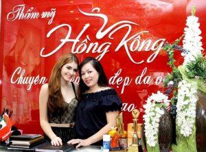 Hoa hậu Phượng Hồng Kông và siêu mẫu Andrea